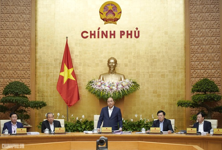 越南政府2月工作例会开幕 - ảnh 1