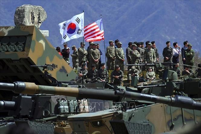 美国与韩国今年的联合军演将大幅缩减规模 - ảnh 1