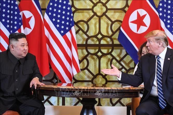 美国总统特朗普愿与朝鲜就无核化问题再举行会谈 - ảnh 1