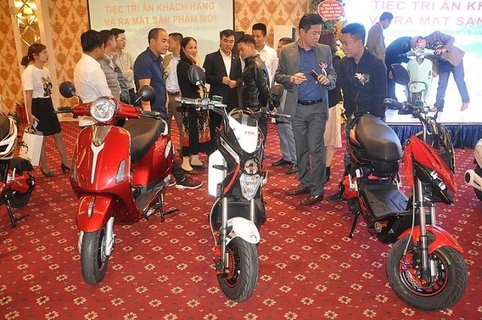 越南首辆国产环保电动车亮相 - ảnh 1