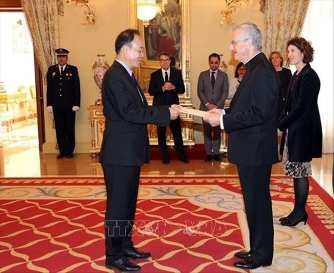 越南驻安道尔城名誉领事办事处开张仪式举行 - ảnh 1