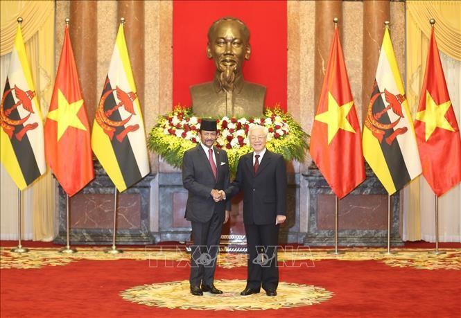 越南和文莱加强各领域合作 - ảnh 1
