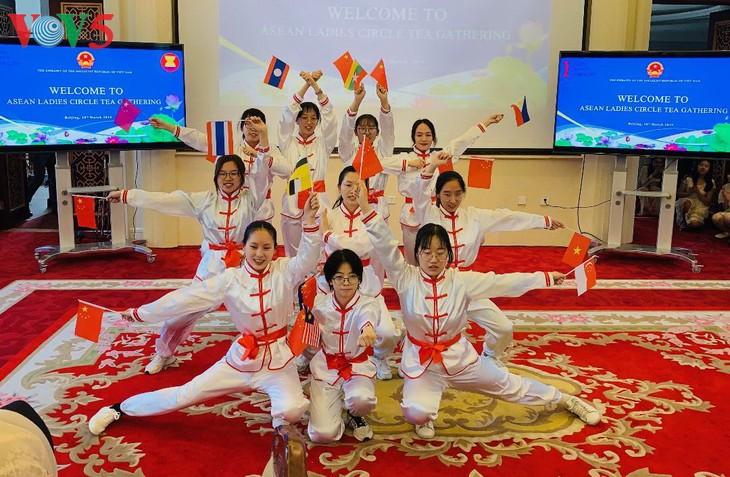 越南驻中国大使馆举行东盟各国妇女交流会 - ảnh 1