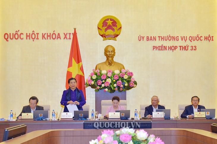 越南国会常委会:土地建设投资、管理、使用领域厉行节约反浪费的实施监督 - ảnh 1