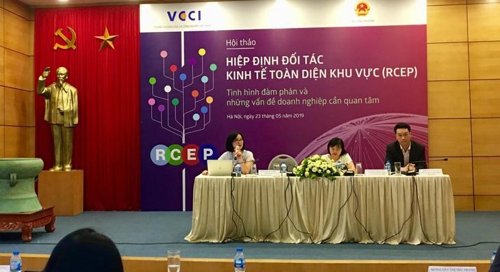 越南签署《区域全面经济伙伴关系协定》后,企业应提高竞争能力 - ảnh 1