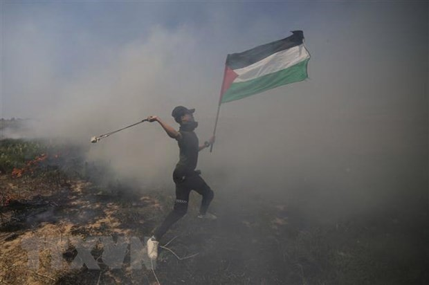 巴勒斯坦呼吁游行示威,反对美国《中东和平计划》 - ảnh 1
