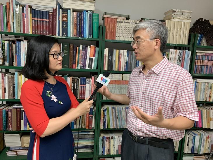 特别关注越南文学的中国教授 - ảnh 1