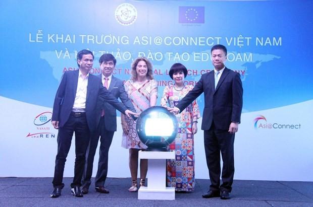 越南亚洲连通项目启动仪式举行 - ảnh 1