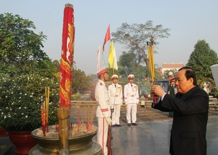 War martyrs commemorated in Ho Chi Minh City - ảnh 1
