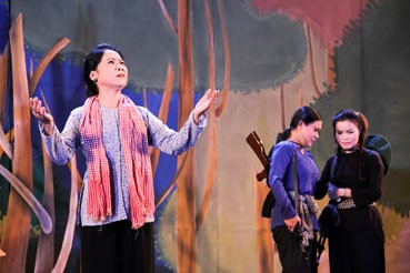 Vuon Man revolutionary story staged in Can Tho - ảnh 1