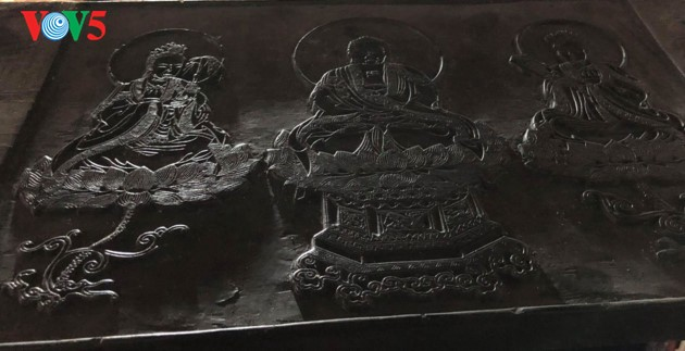 "World's oldest carved Buddhist Sutras on ""thi"" wood at Bo Da pagoda - ảnh 9"