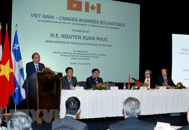 Vietnam expects new wave of investment from Canada - ảnh 1