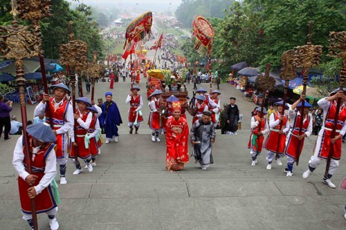 Phu Tho preserves intangible cultural heritages  - ảnh 1