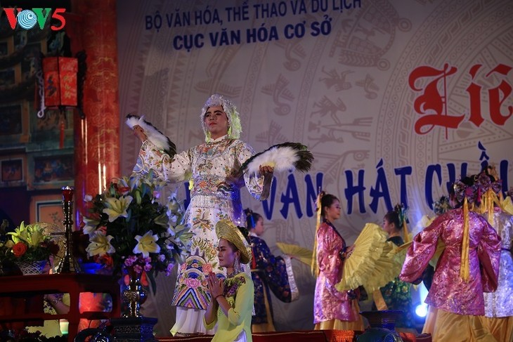 Hue festival honors ritual singing - ảnh 1
