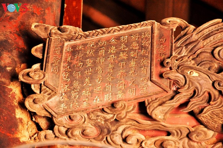 Chem – a unique temple of Thang Long Royal Citadel - ảnh 10