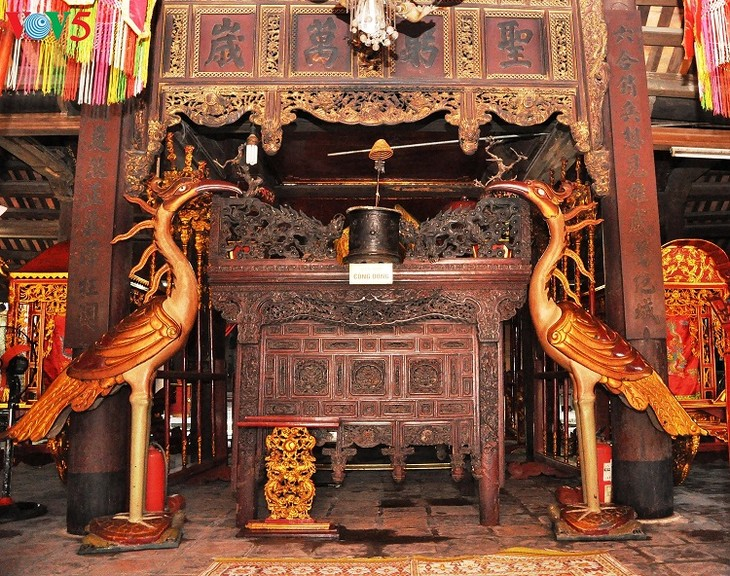 Chem – a unique temple of Thang Long Royal Citadel - ảnh 13