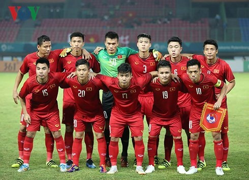 VOV awards 22,000 USD to Vietnam's U23 team - ảnh 1