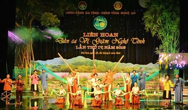 Vi and Giam folk singing festival underway in Ha Tinh - ảnh 1