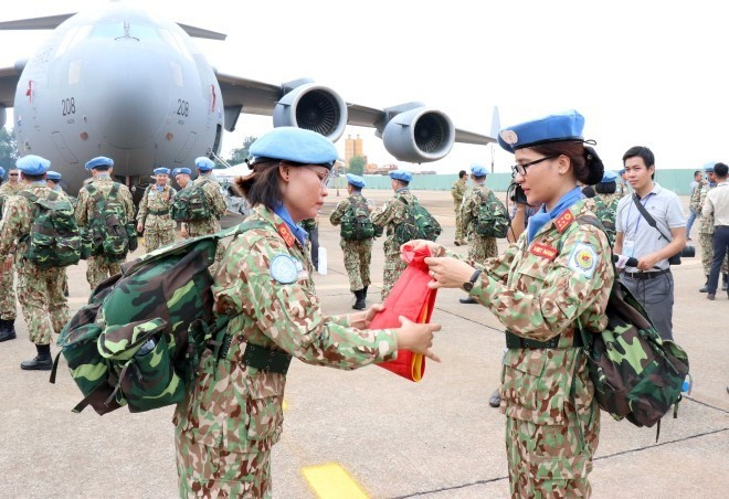 Vietnam peacekeeping force sets out on first mission in South Sudan  - ảnh 1