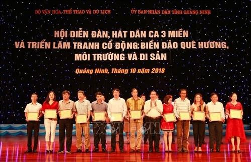 Quang Ninh festival breathes new life into traditional folk music - ảnh 2
