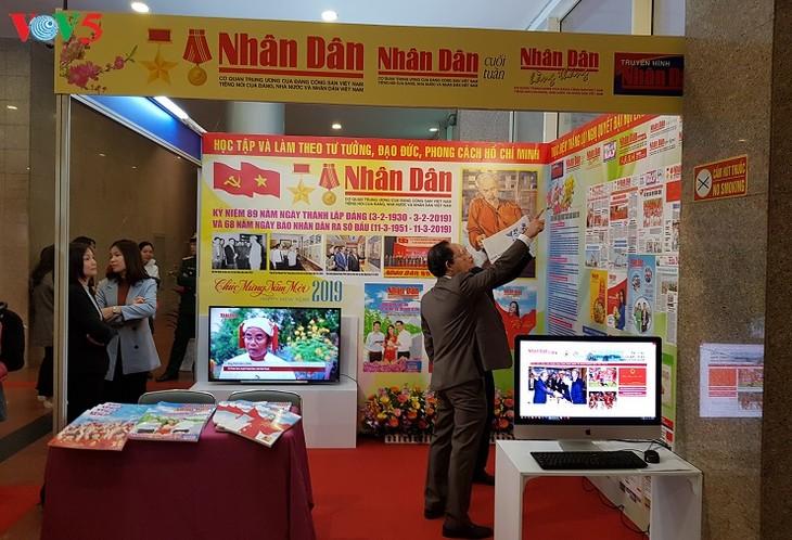 Hanoi Spring Press Festival opens - ảnh 1