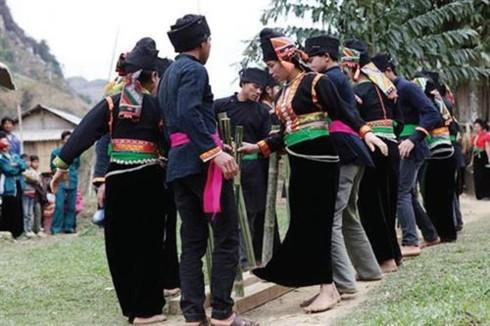 New rice ceremony of the La Ha  - ảnh 1