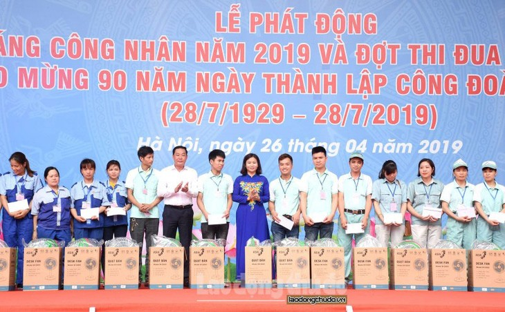 Trade Unions observe Month of Workers 2019  - ảnh 1