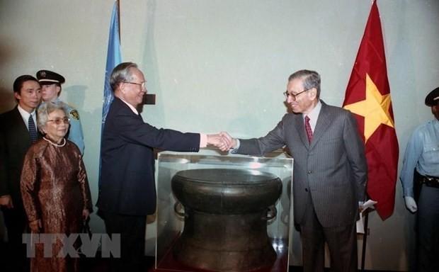 Cambodian, US media highlights former President's merits - ảnh 1