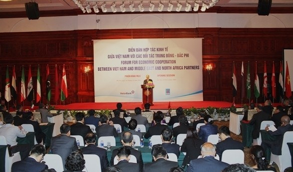 Inaugurado I Foro económico Vietnam-Oriente Medio y África del Norte - ảnh 2
