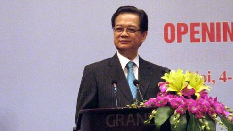 Inaugurado I Foro económico Vietnam-Oriente Medio y África del Norte - ảnh 1