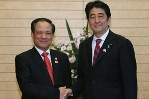 Secretario general de la ONU visita Japón - ảnh 1