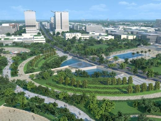 Vietnam aspira a desarrollar una metrópoli verde e inteligente  - ảnh 1