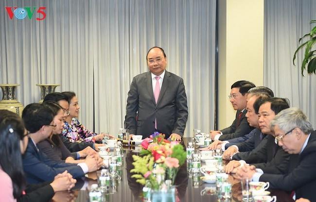Inicia premier vietnamita actividades en su visita a Estados Unidos  - ảnh 1