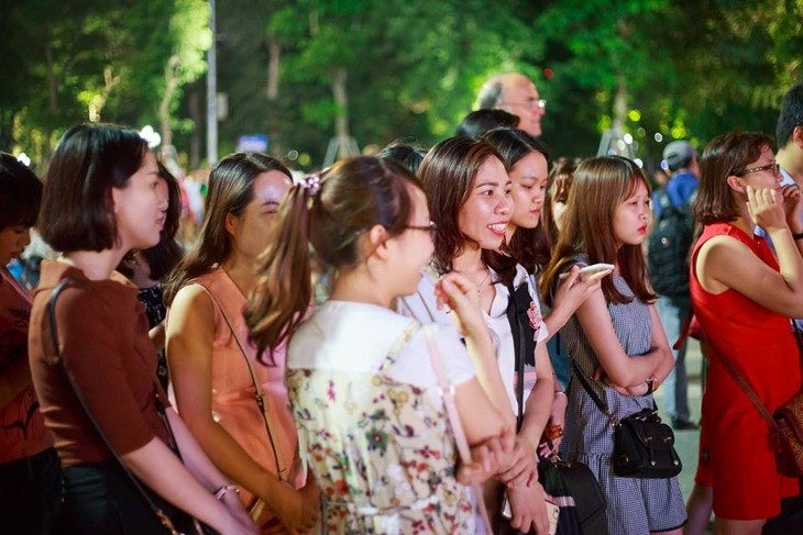Tango, danza que acerca la cultura argentina al público vietnamita - ảnh 3