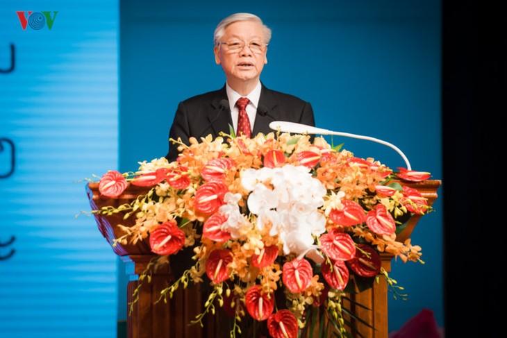 Conmemoran en Hanoi y Vientiane los 55 años de las relaciones diplomáticas Vietnam-Laos - ảnh 1