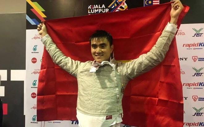 Vietnam obtiene la séptima medalla de oro en los XXIX Juegos Deportivos del Sudeste Asiático - ảnh 1