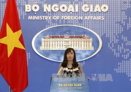 Vietnam preocupado ante el último lanzamiento del misil balístico de Corea del Norte - ảnh 1