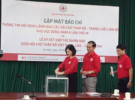 Celebrarán en Hanói la XIV Conferencia de la Cruz Roja y la Media Luna Roja del Sudeste de Asia - ảnh 1