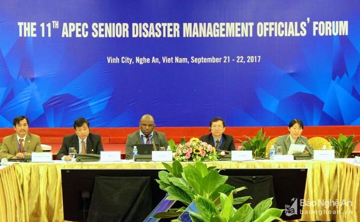 Concluyen la Reunión de SOM del APEC sobre la gestión del riesgo de desastres naturales - ảnh 1