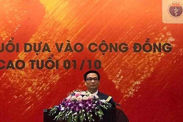 Vietnam llama a la participación comunitaria en la mejora de atención médica a las personas mayores - ảnh 1