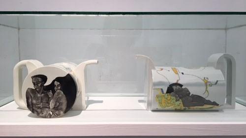 """Celebran en Vietnam la Exposición """"Porcelana contemporánea de Hungría"""" - ảnh 1"""