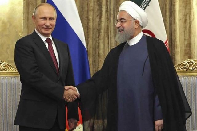 El presidente ruso, Vladimir Putin, en visita oficial a Irán - ảnh 1