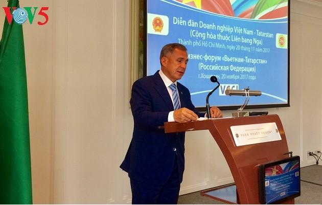 Se celebran el Foro de negocios Vietnam-Tartaristán - ảnh 1