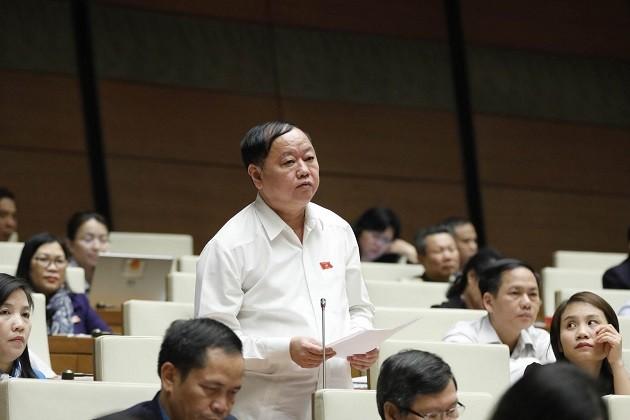 Parlamento vietnamita debate sobre la enmienda de la Ley de Topografía y Cartografía  - ảnh 1