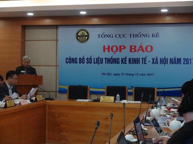 El PIB de Vietnam en 2017 aumenta en un 6,81%, el más alto en siete años - ảnh 1