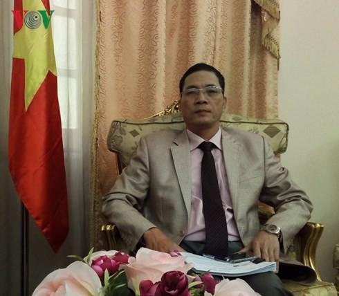 Buenas perspectivas en las relaciones Vietnam-Egipto - ảnh 1