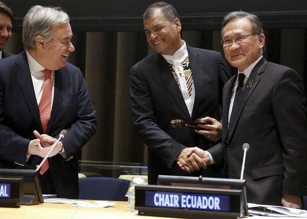 ONU destaca el papel del G77 en los asuntos internacionales - ảnh 1