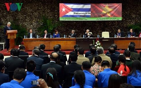 Việt Nam - Cuba thúc đẩy hợp tác mọi mặt  - ảnh 3