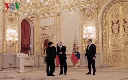 Presidente ruso aprecia relaciones con Vietnam - ảnh 1