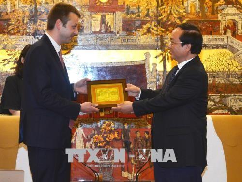 Hanói y Edessa fortalecen la cooperación y la inversión - ảnh 1